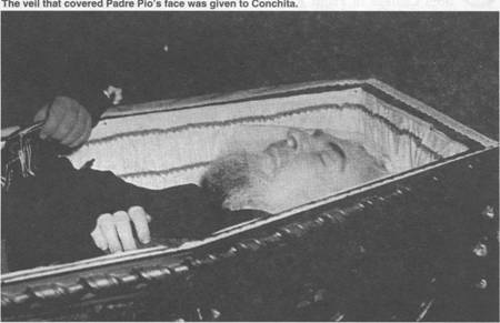 Padre Pio San Giovanni Rotondo, Conchita Garabandal